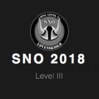 SNO 2018